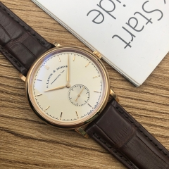 A.Lange & Söhne Saxonia 37mm 18K Rose Gold Silver Dial Manual-winding 216.032