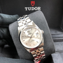 Tudor Prince Date Day 36mm Stainless Steel Silver Dial Automatic M76200-0009