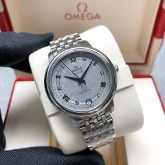 OMEGA De Ville Stainless Steel  33MM Grey Dial Automatic 424.10.33.20.56.002