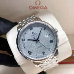 OMEGA De Ville Stainless Steel  40MM Grey Dial Automatic 424.10.40.20.06.002