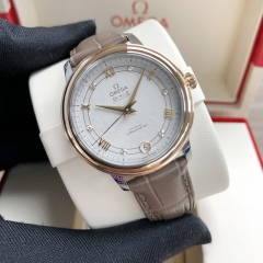 OMEGA De Ville Steel-Rose Gold 33MM Silver Dial Automatic 424.23.33.20.52.003